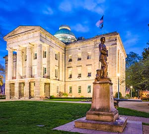 Raleigh Attraction: North Carolina State Capitol