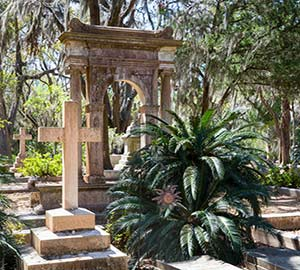 Savannah Attraction: Bonaventure Cemetery