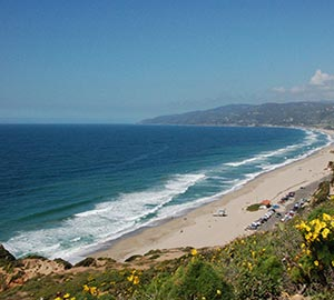 Los Angeles Attraction: Zuma Beach