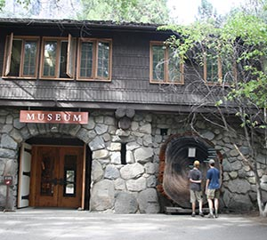 Yosemite National Park Attraction: Yosemite Museum and Indian Village