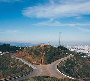 San Francisco Attraction: Twin Peaks