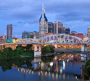 Nashville Attraction: John Seigenthaler Pedestrian Bridge