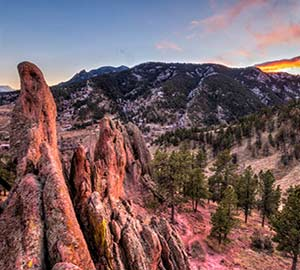 Boulder Attraction: Flagstaff Mountain