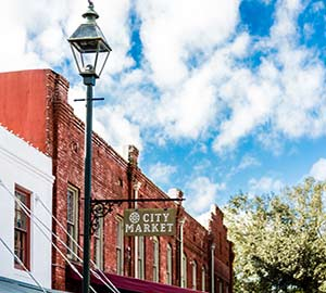 Savannah Attraction: City Market