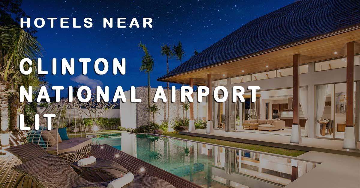 Top 20 Hotels near Clinton National Airport (LIT)   Tripinn.com