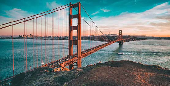 San Francisco -Best Weekend Getaways in The US