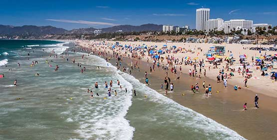 Santa Monica State Beach -Best Beaches Destinations in the US