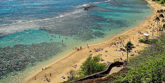 Hanauma Bay Nature Preserve -Best Beaches Destinations in the US