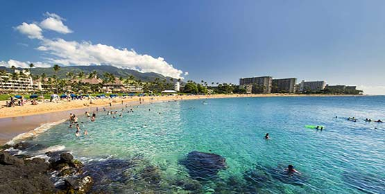 kaanapali Beach -Best Beaches Destinations in the US