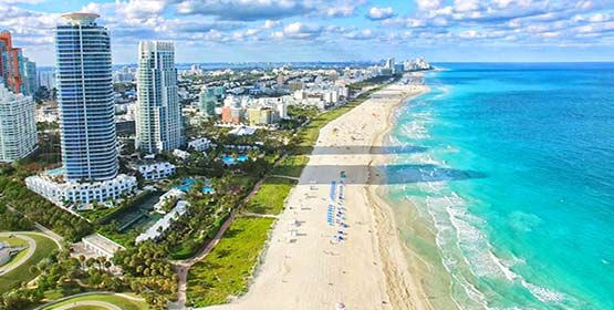 South Beach -Best Beaches Destinations in the US