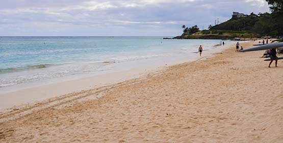 Kailua Beach Park -Best Beaches Destinations in the US