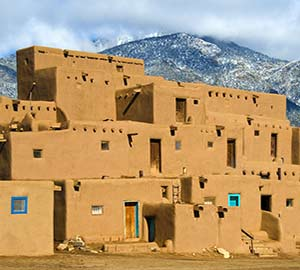 Taos Pueblo Neighborhoods