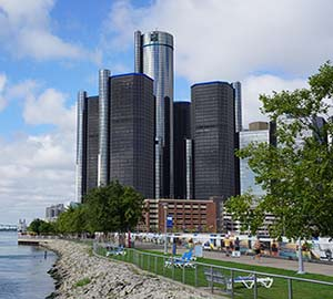 GM Renaissance Center Neighborhoods